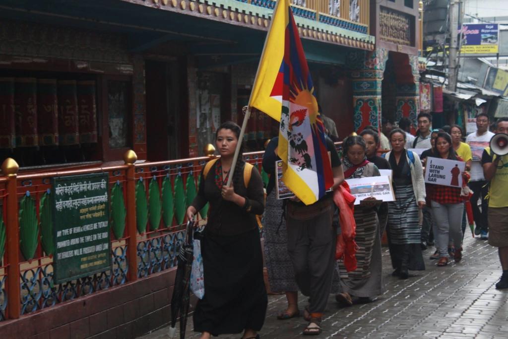 larung gar protest 1
