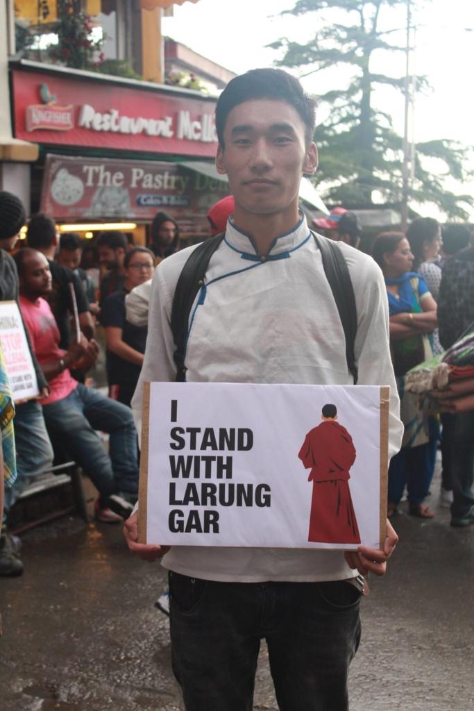 larung gar protest 3