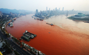 yangtze river red
